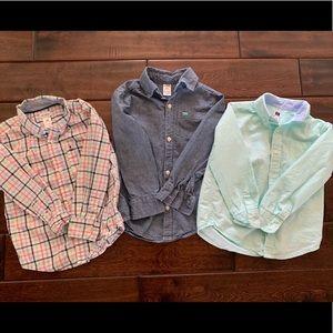 Janie & Jack and Carter's boys dress shirts
